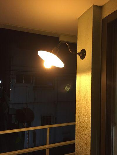 虫寄灯、初点灯。誰も寄って来ないなぁ(笑)IPhoneographyy七日町リフォームム
