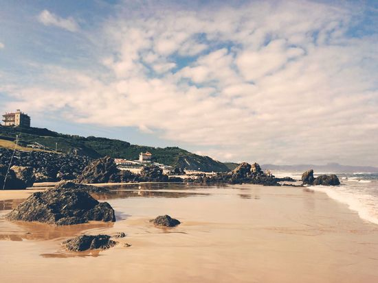 EyeEm Selects Outdoors Beach Beauty In Nature Travel Destinations No People Scenics Sea Nature Biarritz