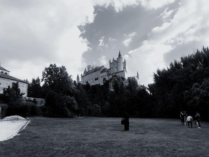 Historia Alcázar Segovia Segovia Tree Sky Plant Cloud - Sky Architecture Built Structure Nature First Eyeem Photo