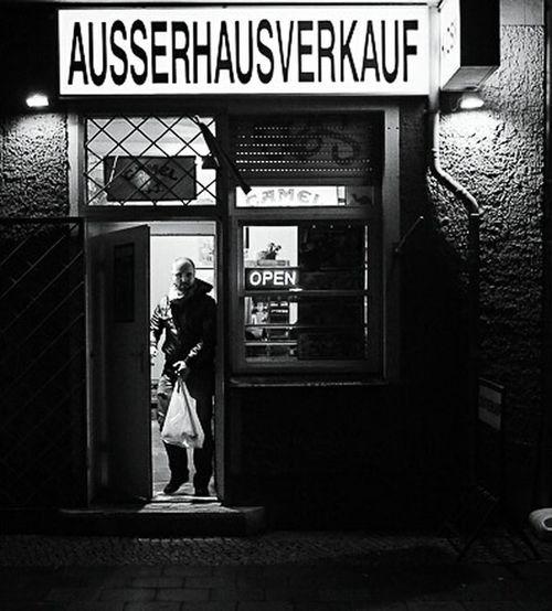 Berlin Späti That's Me Black & White The Street Photographer - 2016 EyeEm Awards