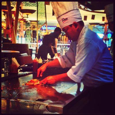 Tepanyaki Chef