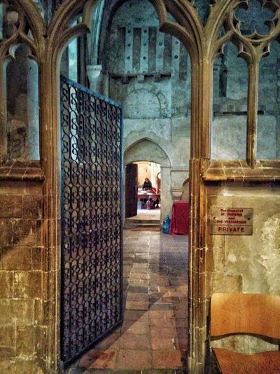 Canterbury Cathedral Doorway Clergy EyeEmNewHere Hidden Life