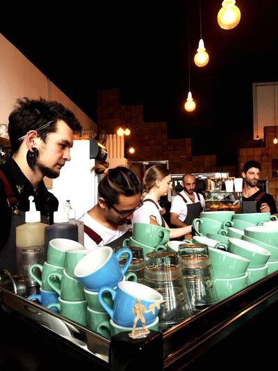 Barista meeting Barista Melbournecafe