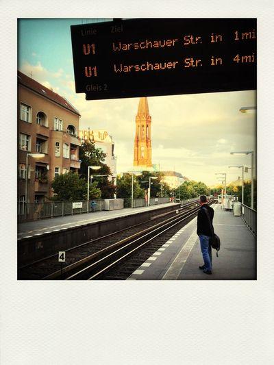 Berlin Kreuzberg Bvg Ubahn