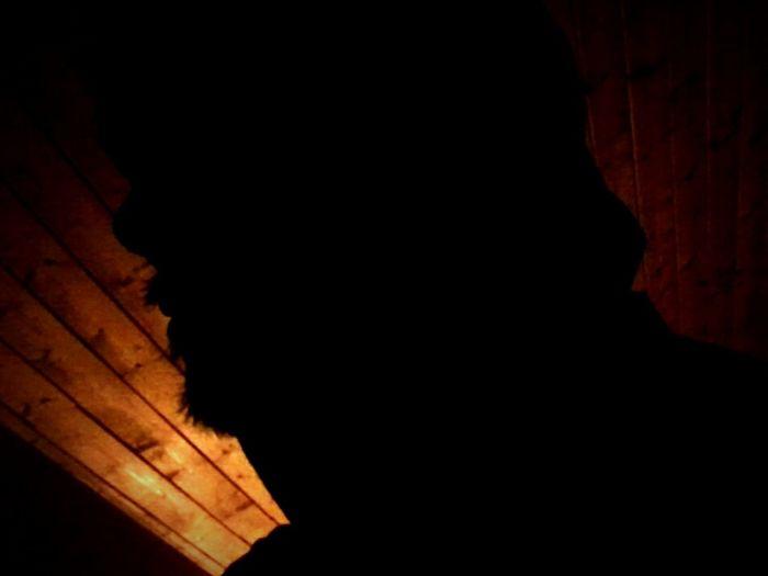 Silhouette Hooded Spirit Both Sides~