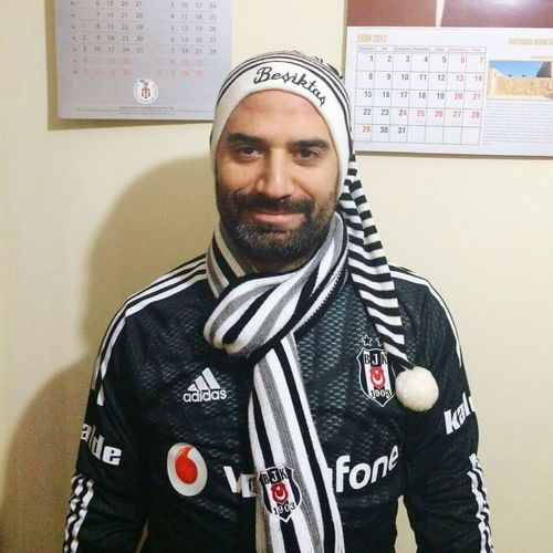 Besiktas Black And White Club Blackeagle Fan Fanatic Match People People Of EyeEm