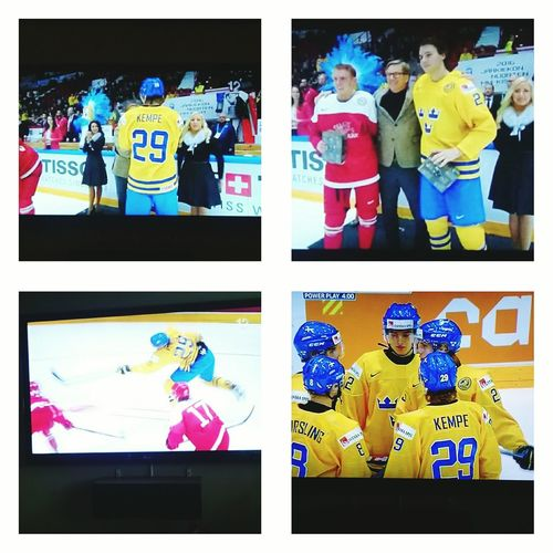 Adrian Kempe is, hats off, the best player today. LoveHockey Icehockey Sweden Jvm WeWon!!! Enjoying Life 2015