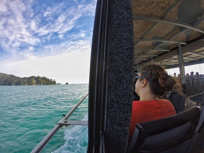 Gopro GoPro Hero3+ Look Out The Window Both Sides~ Ship Abel Tasman Nationalpark