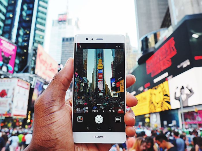 Huawei P9 capturing the world as it should look Huawei HuaweiP9 Huaweiphotography Leica Lens Newyork City NYC Times Square NYC USA