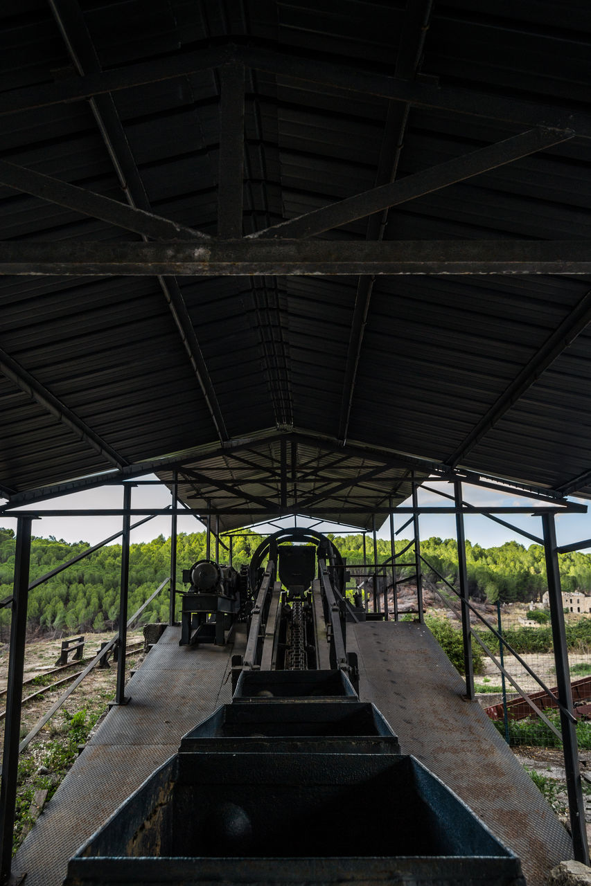 no people, built structure, day, transportation, architecture, indoors, nature