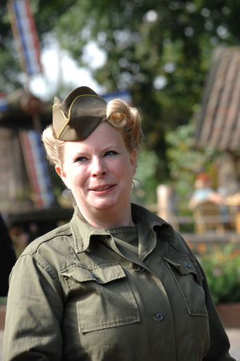 Act Army Army Life Close Up Headshot Historical Relived History Through The Lens  Military Remember The War Show Vintage War Woman