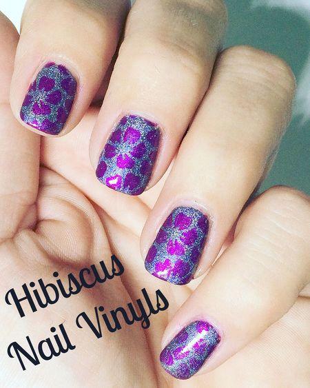 Hibiscus Nails Naildesign Nailart  Nageldesign Nailvinyls Nail Vinyls Nail Vinyls By Glambee Glambee Glambeesnails Glambeenailvinyls Nailvinylsbyglambee