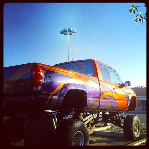 Mini Monster truck at that Mini Targetlot Blowuptypeshit