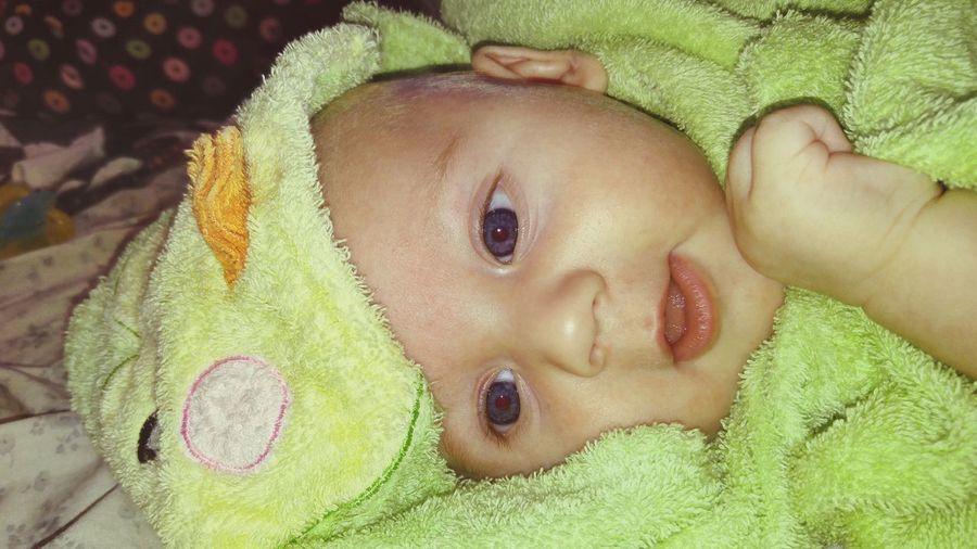 Baby Babyboy Baby Boy BabyBlueEyes Froggy Babyphotography Photography Babyportraits Babyface Babylove Babys