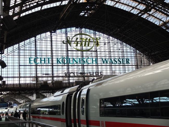 Estación central de Colonia Köln