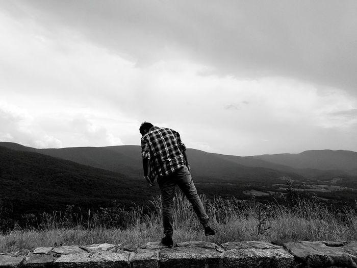 Blackandwhite Mountains TIP Sky Dark Black Nick