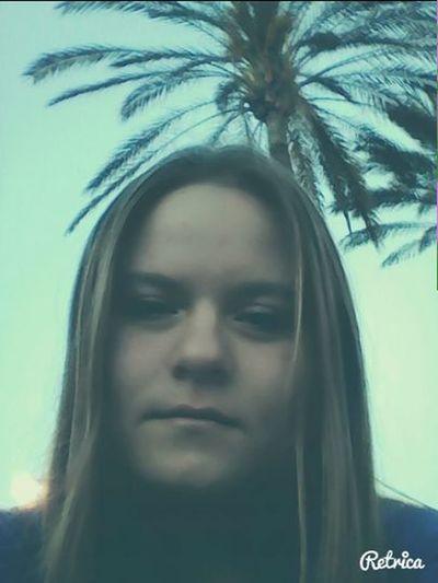 That's Me Taking Photos Beach Russian #blonde#palms