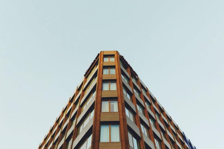 Angular building in newcastle upon tyne.