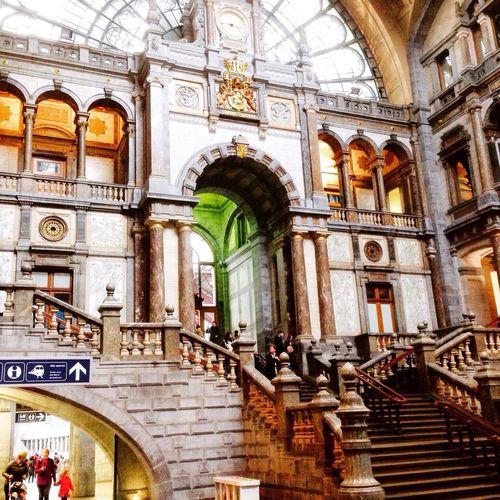 @Central Station, Antwerp Belgium