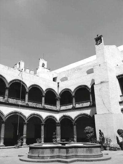 Arquitecture Mexico City Xochimilco DF CDMX. Mexico_maravilloso Fredymarin Mexico De Mis Amores Fotografia Black And White Convento