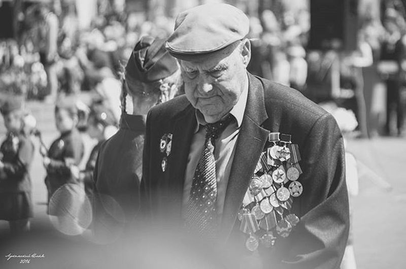 HERO 9may 9мая ДеньПобеды Victoryday Veteransday Veterans Veteran Blackandwhite Black_white Bnw Bw Sunglasses Interview Reportage Medals Celebration Oldman Portrait Nikon Nikon_photography_ Photography Photo Instagram
