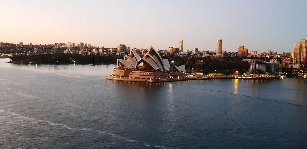 Harbour Opera House Sydney Sunrise Winter Morning I Love Sydney EyeEm Selects Cityscape Concert Hall  Architecture