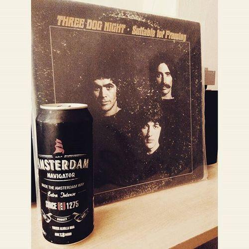 Tatil dediğin böyle olur. Threedognight Beer Amsterdamnavigator LP vinly