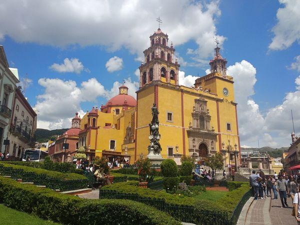 Guanajuato, México Church Unfiltered Guanajuato Mexico City Religion Sky Architecture Building Exterior