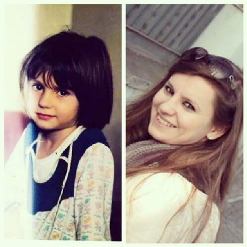 Nereden nereye ? Zalimsinzaman Yil1994 Yaslaniyorum Me myself selfie childhood girl before after