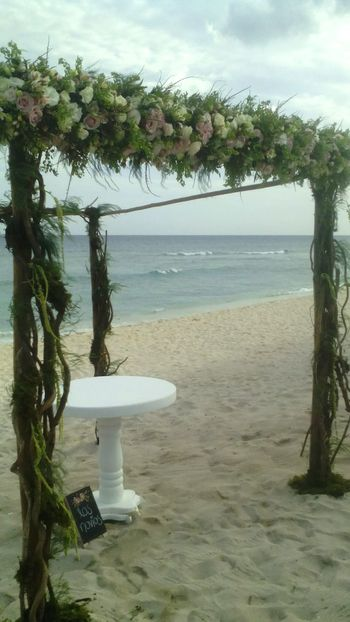 Water Sea Nature Beach Sky No People Tranquility Horizon Over Water Outdoors Day Beauty In Nature Floral Gazebo Wedding Day❤ Wedding Wedding Decor Marido Y Mujer Wedding Decoration Wedding Details Bluevenado Beach Wedding Beachwedding Caribbean Floral Arrangment Gazebo On The Beach Wedding Day
