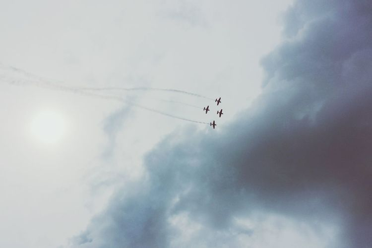 Air Race Jet Planes Labourday Skyporn ☁