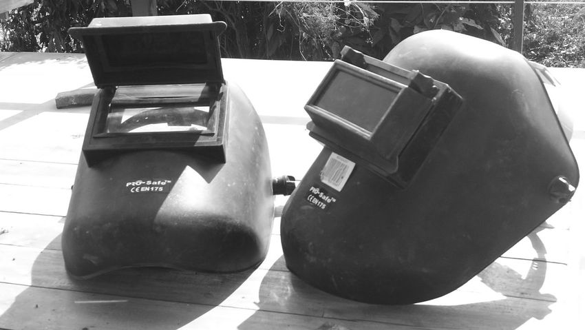 Monochrome TheMask Welding Work