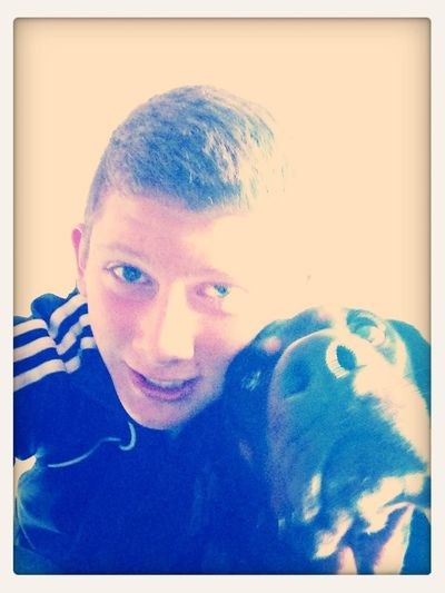 Me and the pooch