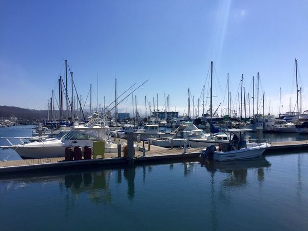 Water Waterfront Blue Boat Harbor Sailboat