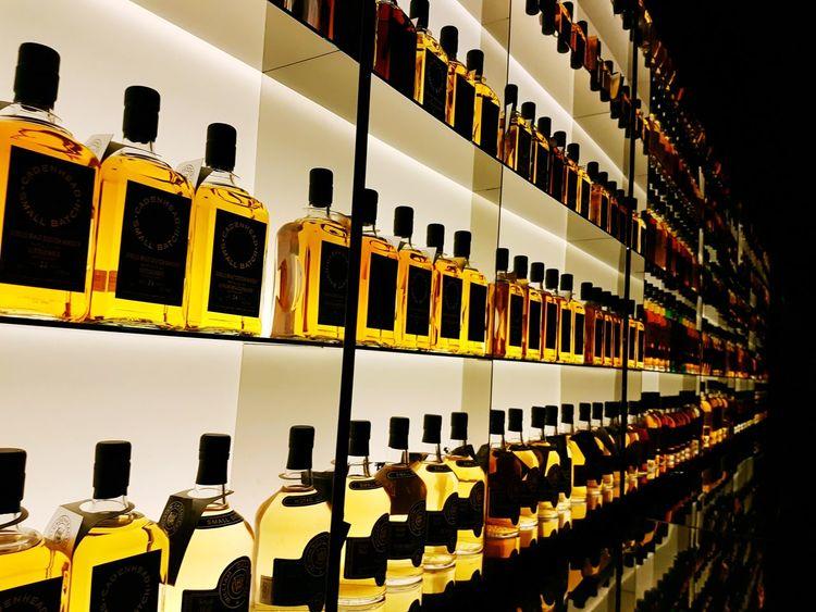 Whisky Bar Bottle Display Shelf Display Singapore In A Row No People Shelf Indoors  Whiskey Randomshot Liqueur Hard Liquor Alcoholic Drink The Photojournalist - 2018 EyeEm Awards EyeEmNewHere HUAWEI Photo Award: After Dark