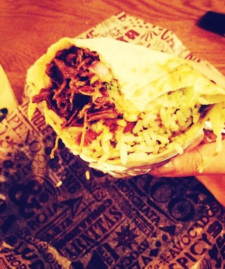 Burrito Beauty. Currentlydigesting