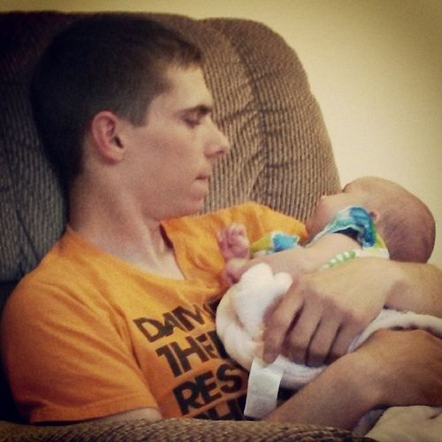 Babygirl 6weeksold Elizamae Daddyandbaby