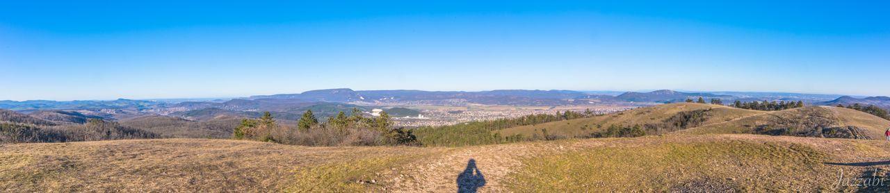 Nagy-szénás Hungary Pilis Hiking Kéktúra Winter