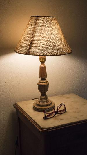 Abajur Day Furniture Indoors  Light Lighting Equipment No People Old Furniture Room Texture Vertical Vintage Wood Wood - Material