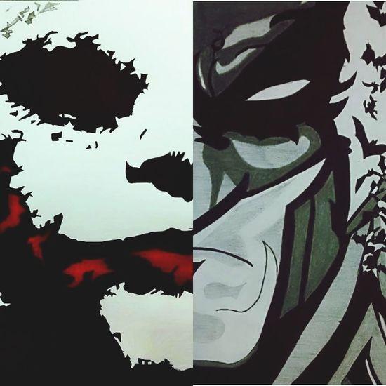 Sketch Sketchbook SkecthArt Sketch Pad Sketches Artistic Canvas Art Artist Batman Dccomics DC DCEU Abstract Black Color No People Outdoors Day Ink Joker Christopher Nolan The Dark Knight The Dark Knight Rises Christian Bale