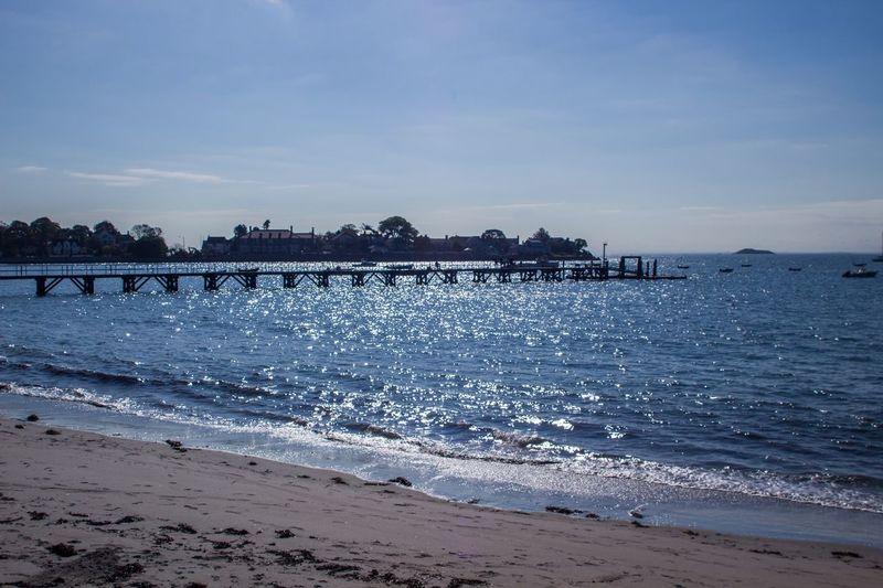 Pier Water Beach Land Sea Sky Scenics - Nature Beauty In Nature
