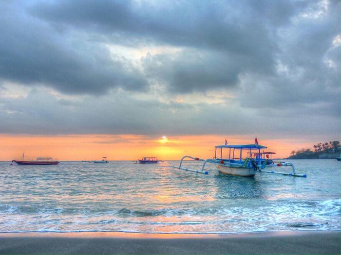 Dreaming a long vacation Sunset Landscape HDR Cloud Panorama Enjoying Life Eye4photography  Beach