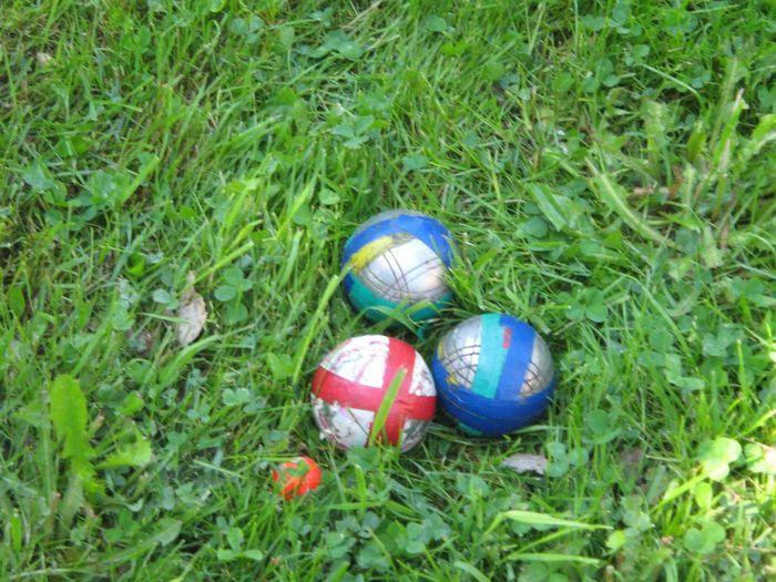 Sport Playing Field Petanque Pétanque Balls