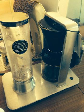 Coolad's Life coffee machine wilfa