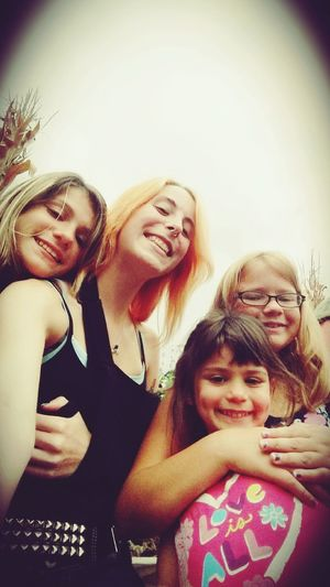 And sometimes you remember that you're not always alone, and that someone loves you. Family Time Linvilla Orchard My Adopted Sisters I Love You