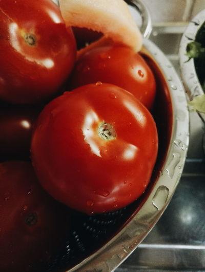 Bowl Close-up Focus On Foreground Food Freshness Healthy Eating Indulgence No People Organic Ready-to-eat Red Still Life Tomato