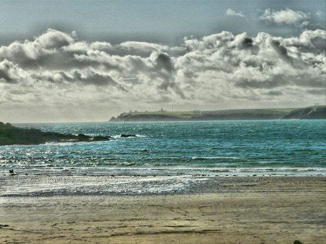 Summer Memories 🌄 Taking Photos Angle Pembrokeshire Sea Sky Water Coastal Views Nature On Your Doorstep