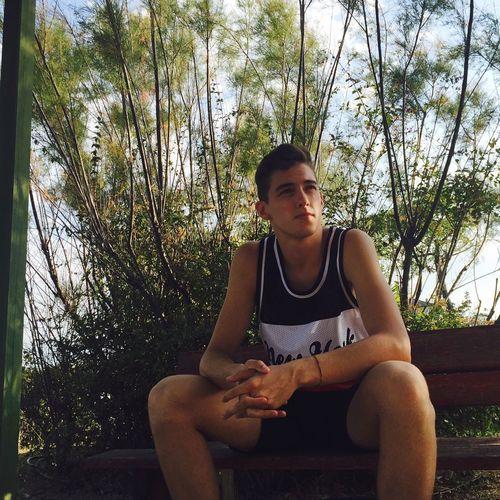 💚 Sitting Young Adult Men Nature Outdoors Day Loving Life! Love Like4like Art Followme EyeEm Best Shots Like Follow Girl Lifeisbeautiful
