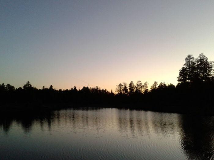 Little Bear Lake Great Outdoors Beautiful Nature