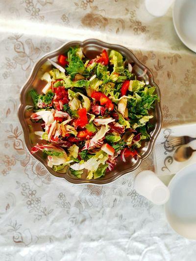 Salad Fresh Salade Vegetables Silver  Colorfull Yummy Petillant Explosive Tomate Tomato Pomodoro Sun Summer Ramadan